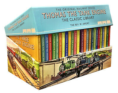 The Railway Series Classic Thomas the Tank Engine 26 Books Collection Boxed Set