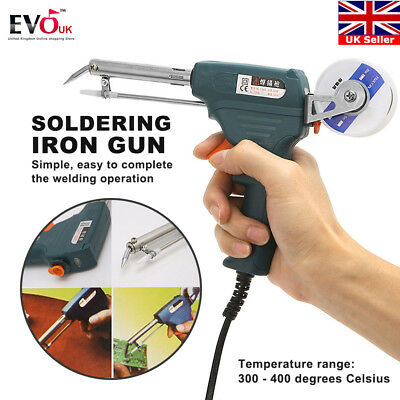 Auto Welding Electric Soldering Iron Temperature Gun Solder Tool Kit 60W