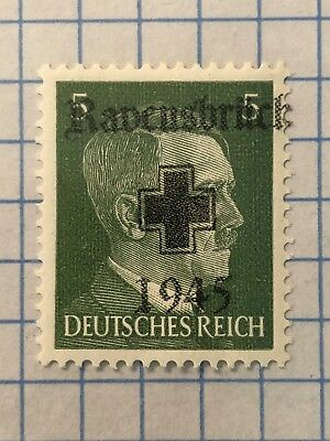 GERMANY (RAVENSBRUCK) 1945 POST WWII-LOCAL ISSUE 5 Pfg.  MNH