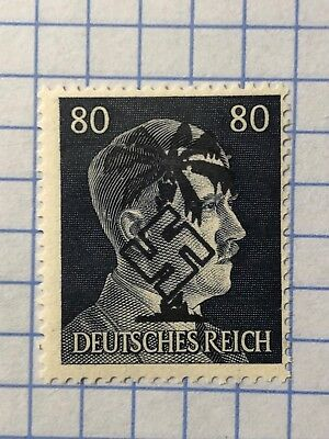 GERMANY NORTH AFRICA WWII-GERMAN OCCUPATION 80 Pfg.  MNH  Priv. issue /s1