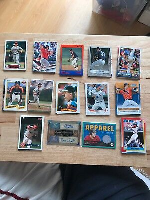 Houston Astros MLB Baseball Cards Inc a signed and Apparel Card