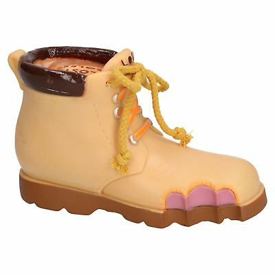"""Rosewood Vinyl Lost Soles Work Boot  Dog Toy With Squeak 20cm/8"""""""
