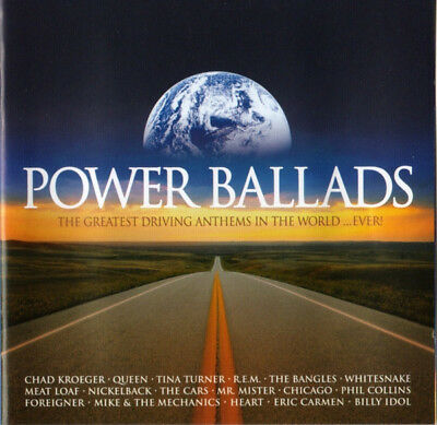 Power Ballads - Greatest Driving Anthems (2 X CD ' Various Artists)
