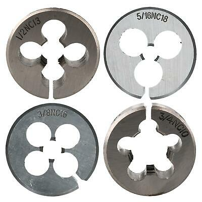 """38mm 1.5"""" UNC Imperial Die Thread Cutter Sizes from 1/2"""" - 3/4"""" Rethreading"""