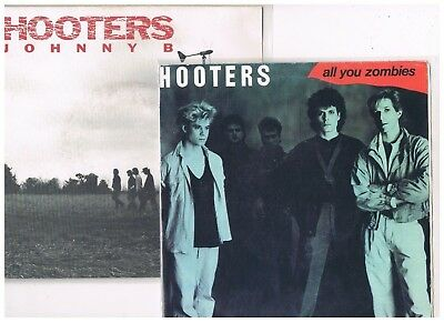 "2 x 7"" + 1 x 12"" - HOOTERS - ALL YOU ZOMBIES / JOHNNY B. - dutch Press with PS"