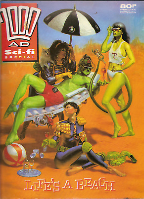 "2000Ad Sci-Fi Special ""life's A Beach"" 1989"