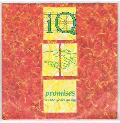 "7"" - IQ - PROMISES (AS THE YEARS GO BY) - german PS"