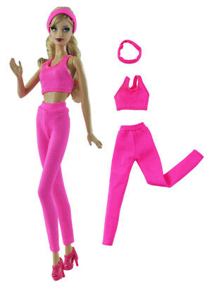 3in1 Fashion Clothes/outfit Top+pants+headband For 11 in. Doll