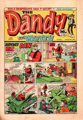 Dandy And Nutty - Scarce  Double Title No. 2292 October 26Th 1985