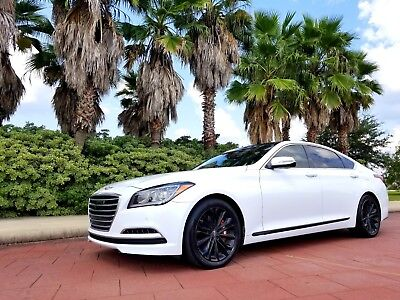 2015 Hyundai Genesis ULTIMATE 2015 Hyundai Genesis Sedan 3.8L ULTIMATE Package