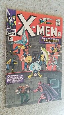 X-Men Comic Book #20 May 1966, Marvel Group Very Good/Fine