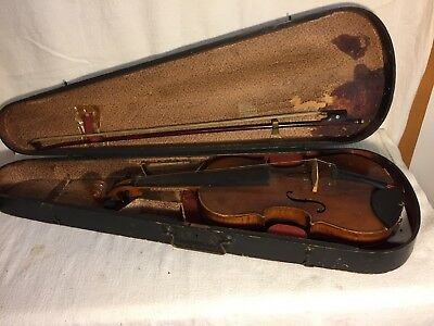 Vintage Violin Copy Antonius Stradiuarius Made In Austria