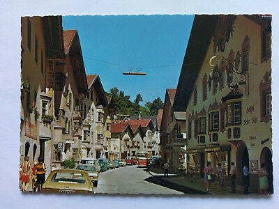Matrei am Brenner Austria colour Postcard c1970s period cars
