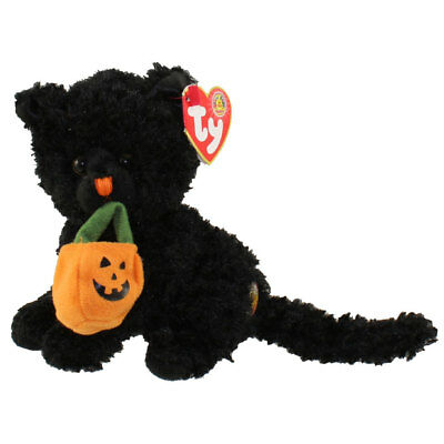 77633201454 TY Beanie Baby - JINXED the Black Cat (BBOM October 2007) (5.5 inch