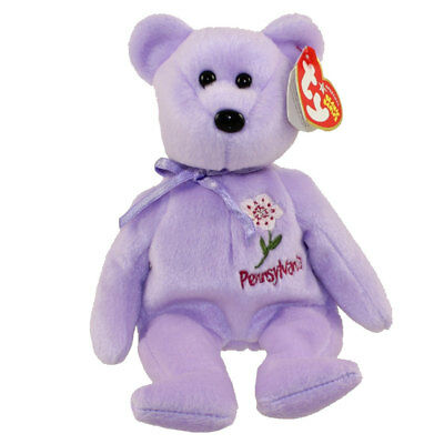 TY Beanie Baby - PENNSYLVANIA MOUNTAIN LAUREL the Bear (Show Excl) (8.5 inch)