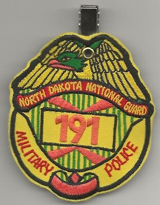Neat 191st Military Police Company North Dakota National Guard Pocket Hanger