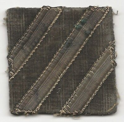 Off Uniform Salty Neat Looking 3rd Infantry Division Shoulder Sleeve Patch