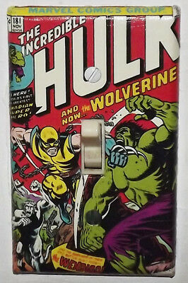 Incredible Hulk 181 Light Switch Cover Plate - Wolverine Marvel FREE SHIPPING