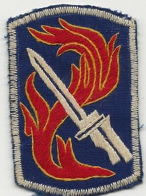 Vietnamese Made Full Color Style 198th Light Infantry Brigade Shoulder Patch