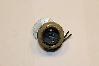 Vintage brass lens ( MB ) - for vintage camera possibly