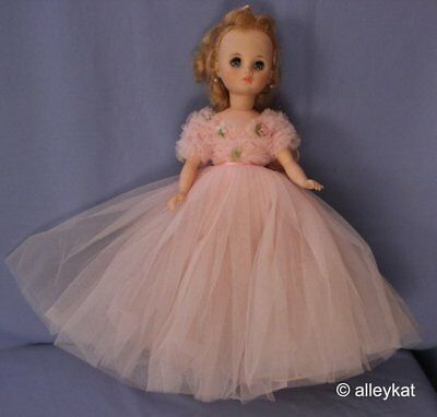 """Vintage 16"""" Madame Alexander Doll With Clothing Lot, Blonde"""