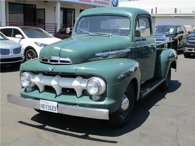 1951 Ford Other Pickups -- 1951 FORD F1 PICK UP, GREAT RUNNER, OLD RESTORATION,  CALIFORNIA CAR NR