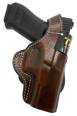 Multi-carry Holster For Sig Sauer P250 4 In 1iwb & Owb Leather Holster. Holsters, Belts & Pouches Hunting