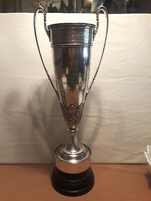 """Vintage 1927 Golf Trophy """"THE SLEEPY HOLLOW COUNTRY CLUB CADDY TOURNAMENT"""" 23.5"""""""