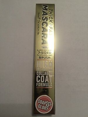 Soap And Glory Thick And Fast Mascara High Definition Collagen Coat Formula 10ml