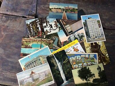 Lot Of 55 Postcards From Around USA.