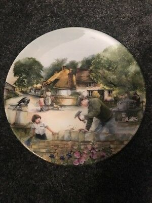 "Royal Doulton Collection Ornamental Plate ""The Dry Stone Waller"""