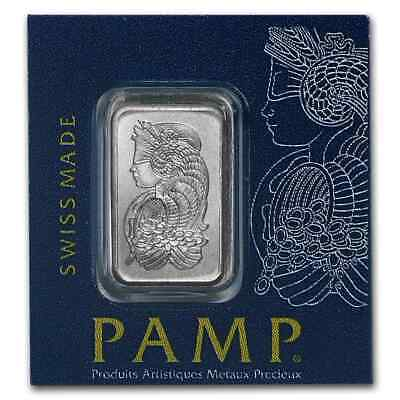 1 gram Platinum Bar - Multigram+25 PAMP Suisse (In Assay) - SKU #96253