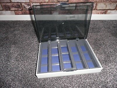 """Photax """"Eclipse"""" 35mm Slide Storage Carry Case For 180 Slides with Box"""