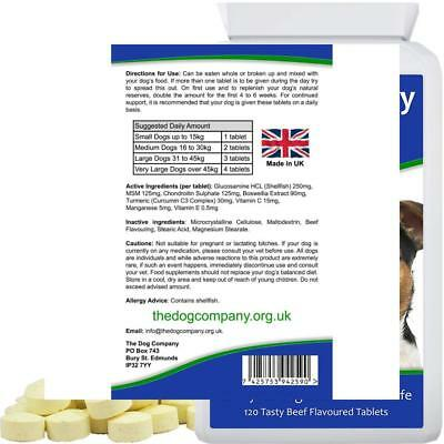 The Dog Company Joint Mobility. Supplement Tablets for Pain Relief and...