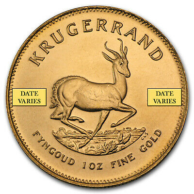 South Africa 1 oz Gold Krugerrand (Random Year) - eBay2 - SKU#132930
