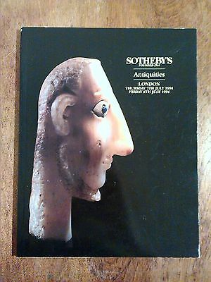 Sotheby's Antiquities London July 1994 Sculpture Greek Roman Egyptian LN4401