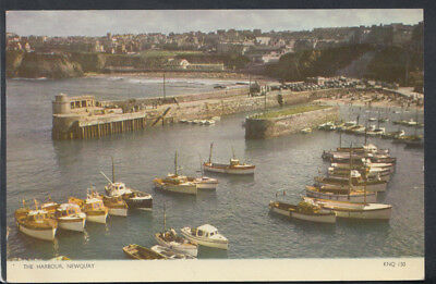 Cornwall Postcard - The Harbour, Newquay    RS11079