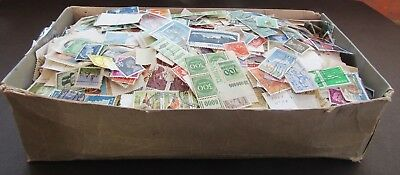 Huge Colln Of Stamps In Old Shoe Box  - All Periods/all World - Est 16,000+