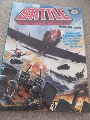 Battle Annual 1980 Good Condition
