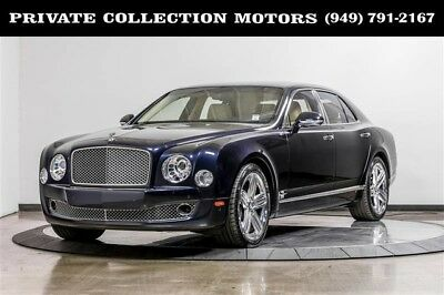 2011 Bentley Mulsanne  2011 Bentley Mulsanne 1 Owner Clean Carfax Low Miles Well Kept