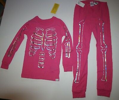 d66ba944d NEW BABY GAP 2 Piece PJs Pink Whale Waves Hearts Pajamas Size 5T 5 ...