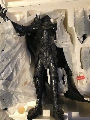 Dark Lord Sauron Polystone Statue by Sideshow Collectibles Lord of the Rings NIB