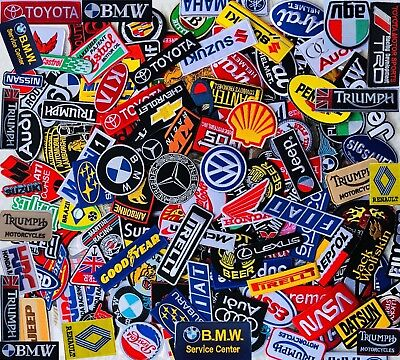 Select Patch Sponsor Racing Car Embroidered Iron On Sew Logo 230 Designs Vintage