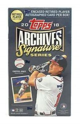 Pick a Player 2018 Archives Signature Retired MLB 20 Box Case 2