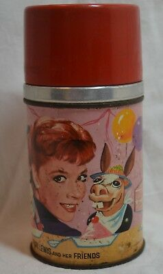 1963 Shari Lewis and Friends Thermos for Lunch Box