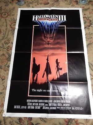 HALLOWEEN 3 - Season of the Witch Original One Sheet Poster