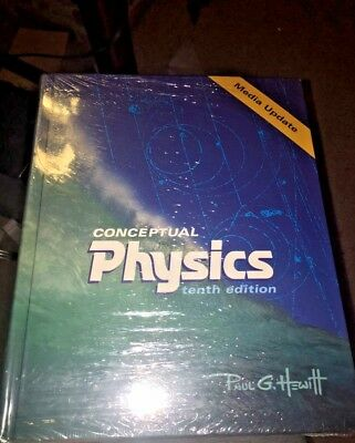 CONCEPTUAL PHYSICS MEDIA UPDATE (10TH EDITION) By Paul G. Hewitt - Hardcover VG+