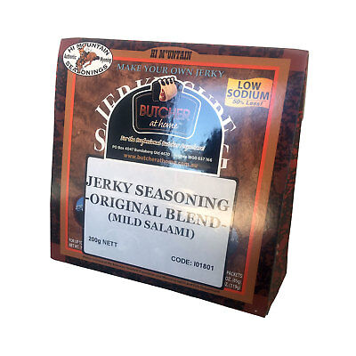 Jerky Seasoning - Original Blend (Mild Salami) 200g