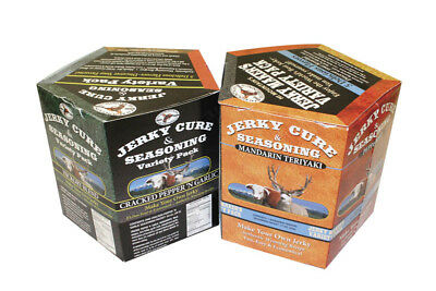 Jerky Seasoning Variety Box #1 600g - Includes: Hickory, Mesquite, Original, ...