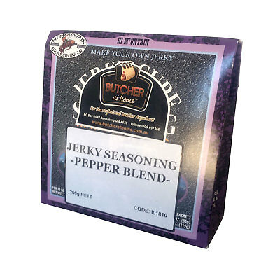 Jerky Seasoning - Pepper 200g